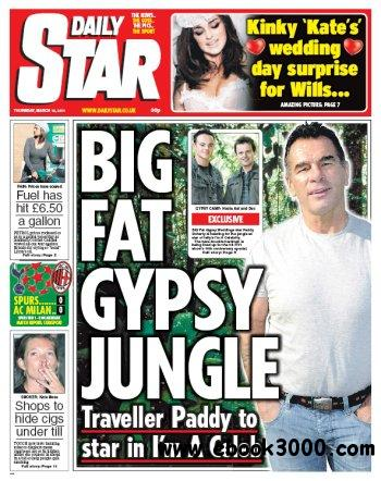DAILY STAR - Thursday March 10 2011 free download