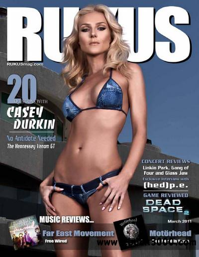 Rukus Magazine - March 2011 free download