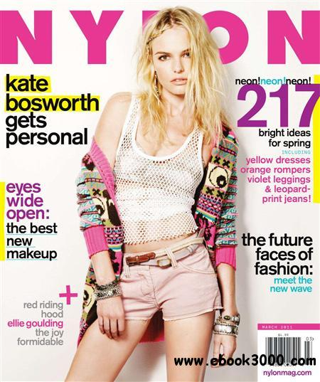 Nylon - March 2011 free download