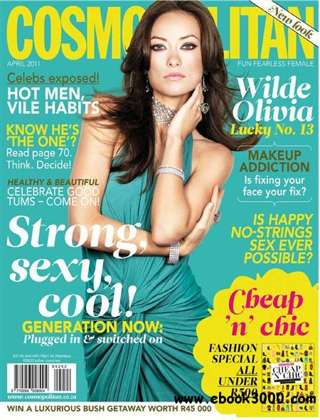 Cosmopolitan - April 2011 / South Africa free download
