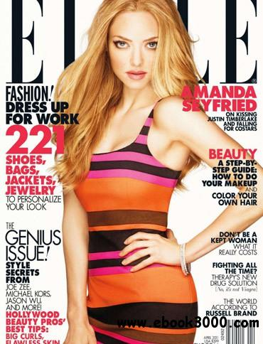 Elle USA - April 2011 free download