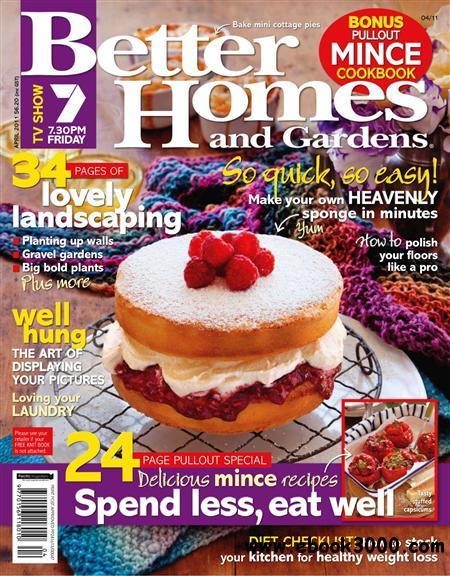 Better Homes and Gardens - April 2011 / Australia free download
