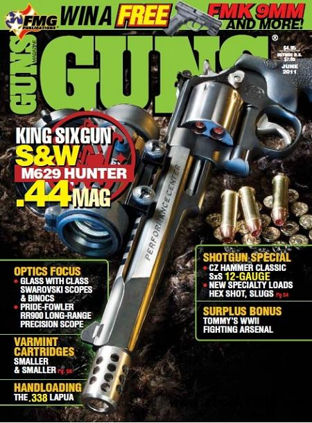 Guns Magazine - June 2011 free download