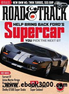 Road & Track No.06 - June 2011 free download