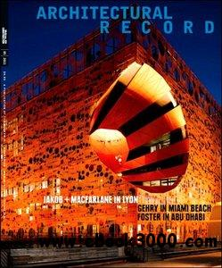 Architectural Record - May 2011 free download