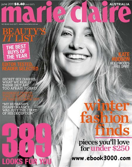 Marie Claire - June 2011 / Australia free download