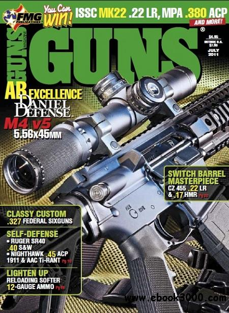 Guns Magazine - July 2011 free download