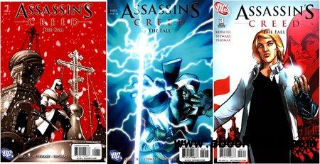 Assassin's Creed - The Fall #1-3 (2011) Complete free download