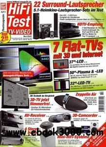 Hifi Test TV Video Magazin Mai Juni No 03 2011 free download
