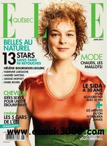 Elle Quebec - June 2011 free download