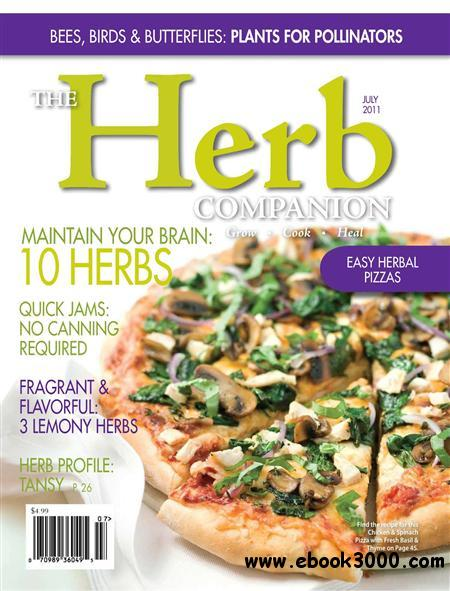 Herb Companion - July 2011 free download
