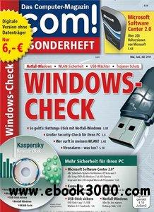 COM Magazin Sonderheft Windows Check Mai - Juli No 05 2011 free download