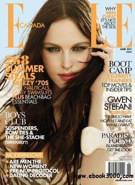Elle Canada - June 2011 free download
