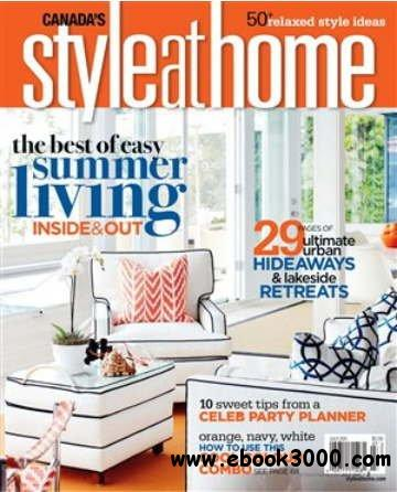 Style at Home - July 2011 free download