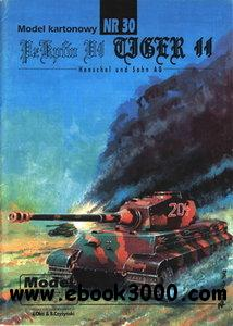ModelCard 030 PzKpfw VI Tiger II Ausf.B King Tiger free download