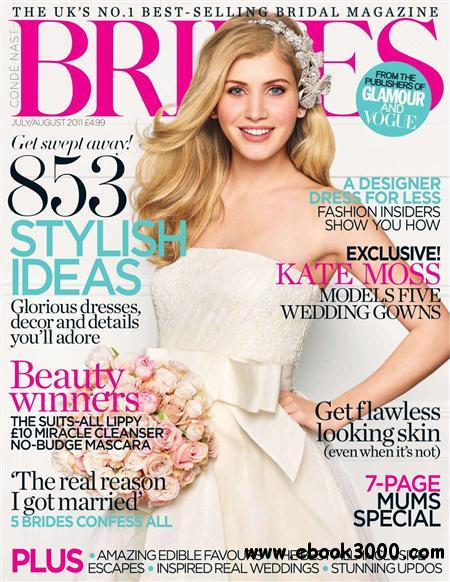 Brides - July August 2011 free download