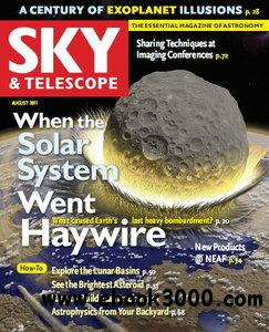 Sky & Telescope Magazine August 2011 free download