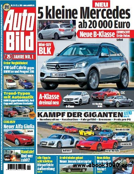 Auto Bild Magazin No 24 vom 17 Juni 2011 free download