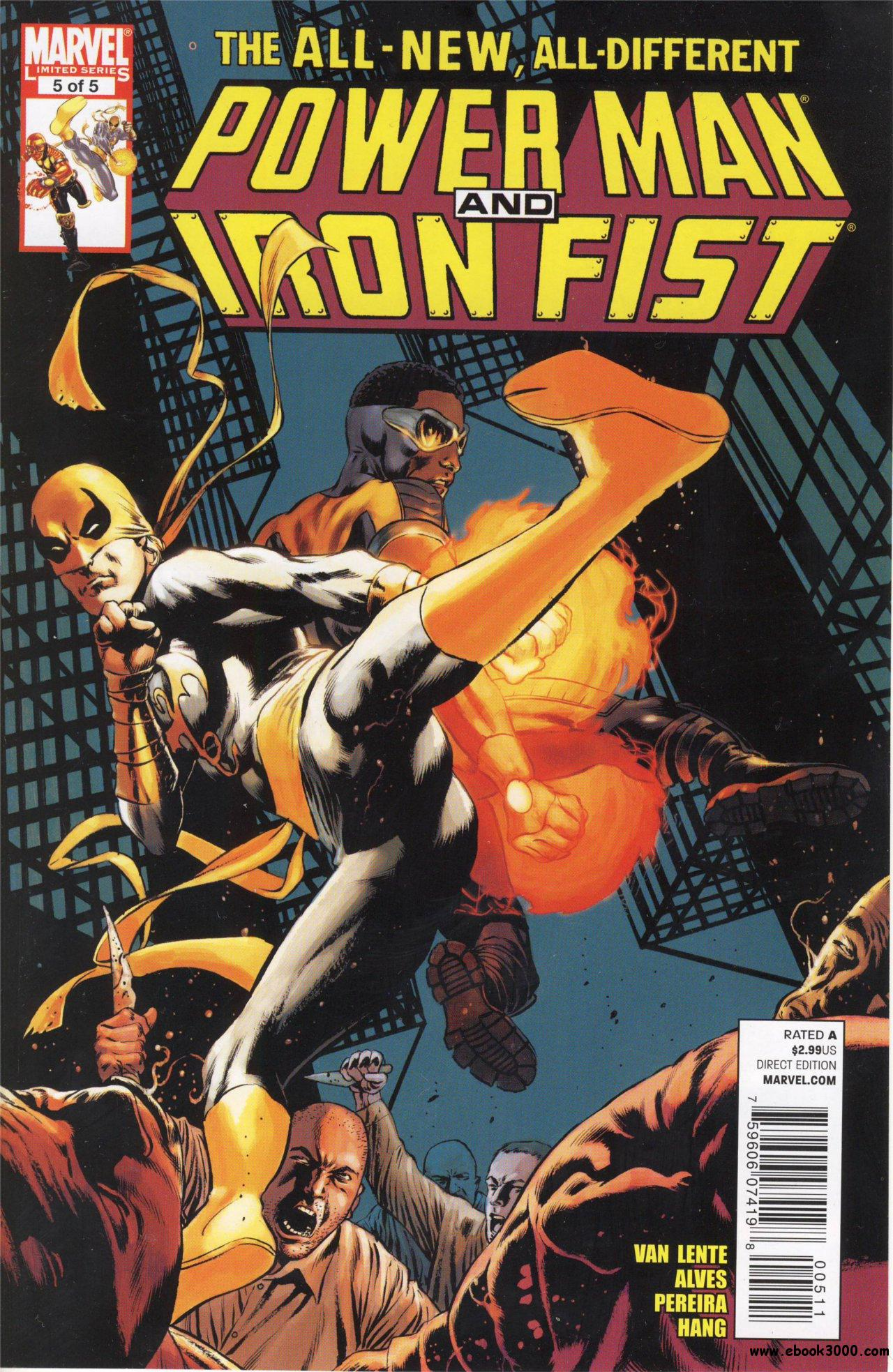 Power Man and Iron Fist #5 (of 05) (2011) free download