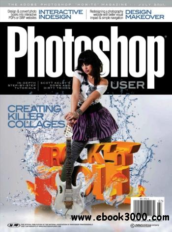 Photoshop User - July 2011 free download