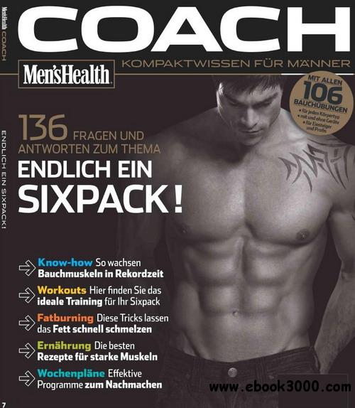 Men s Health Coach Nr 7 - Endlich ein Sixpack! / Germany free download