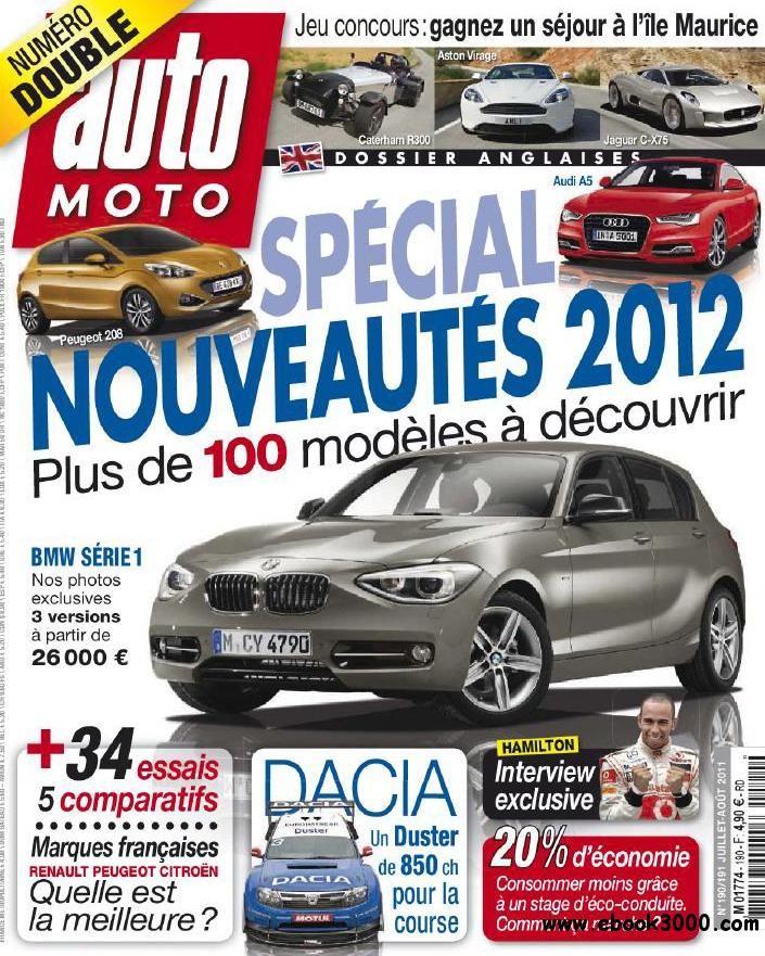 Action Auto Moto No 190/191 (Juillet - Aout 2011) free download