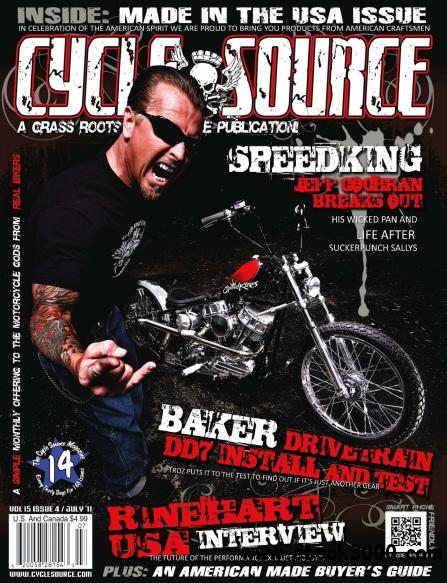 The Cycle Source Magazine - July 2011 free download
