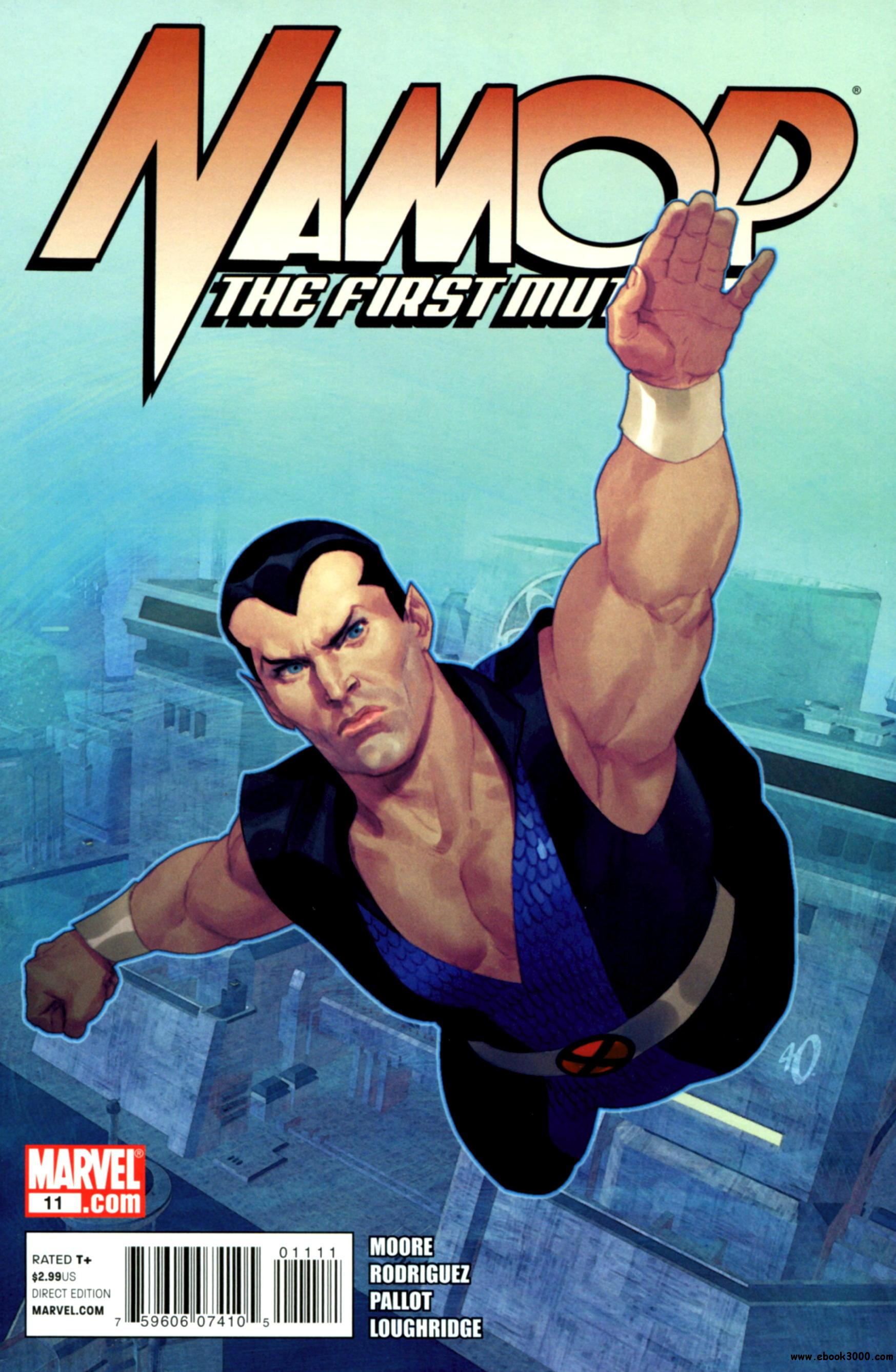 Namor - The First Mutant #11 (2011) free download