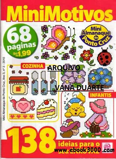 Mini Almanaque de Ponto Cruz  3 2010 free download