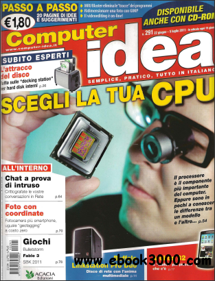 Computer Idea 291 - 22/6/11 free download
