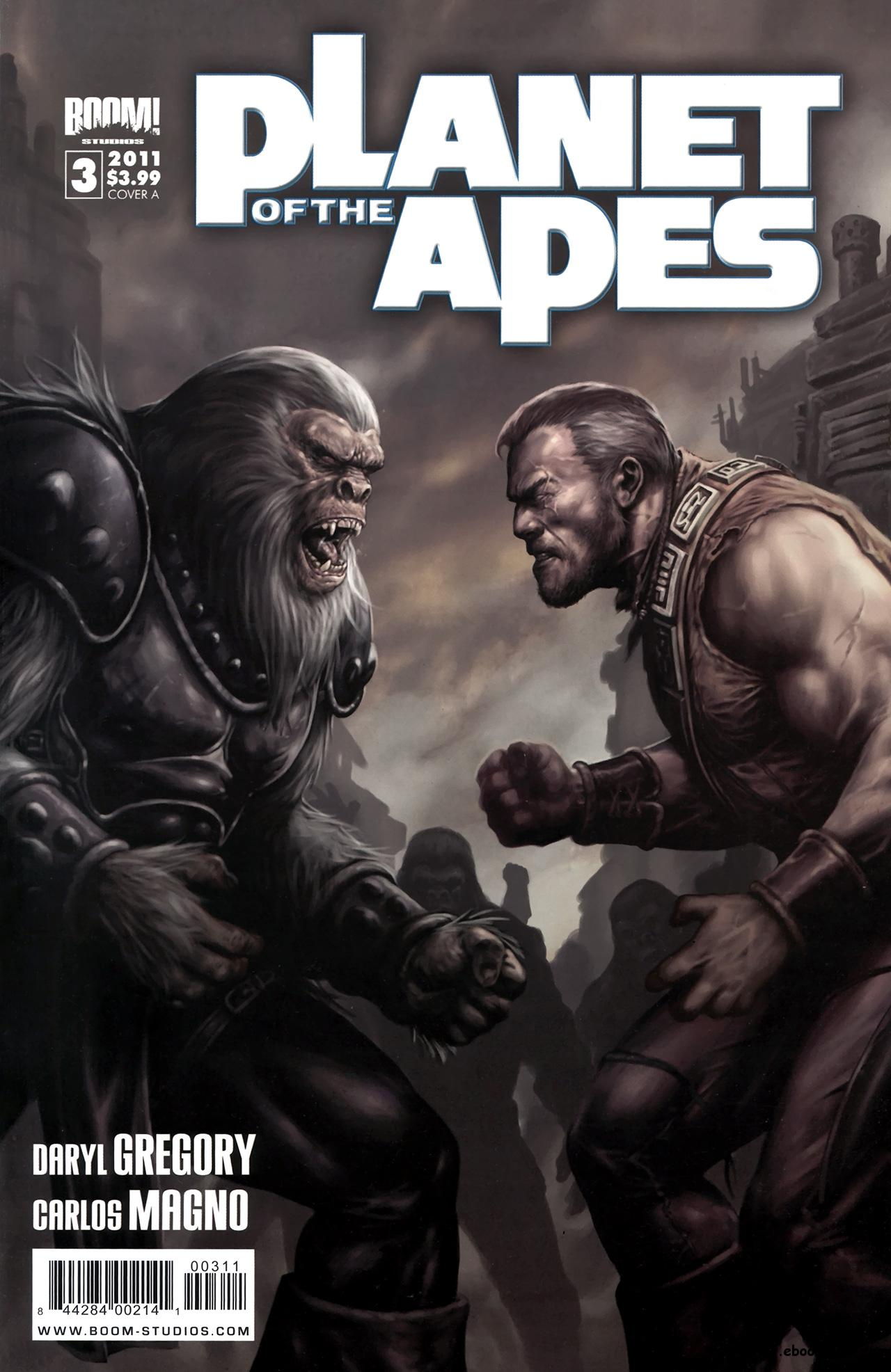 Planet Of The Apes #3 (2011) free download