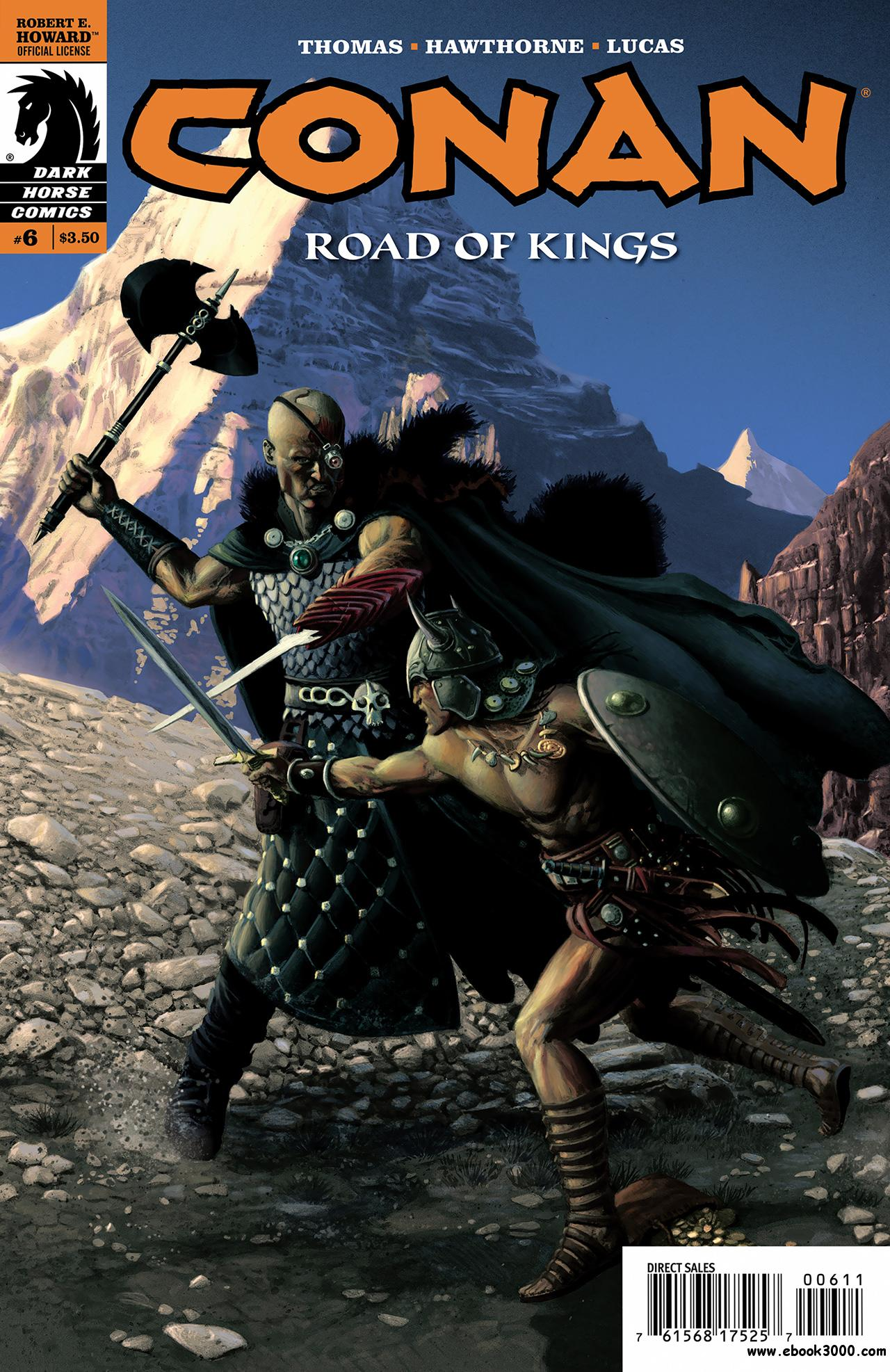 Conan - Road of Kings #6 (2011) free download