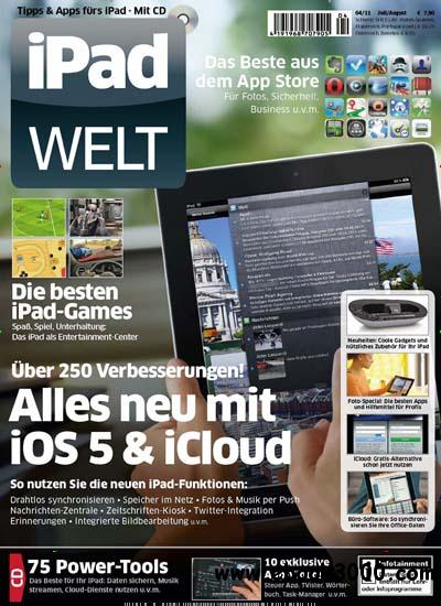 iPAD Welt Magazin Juli August No 04 2011 free download