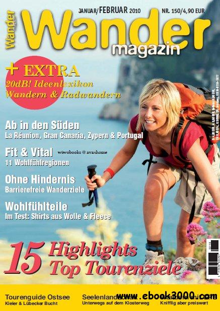 Wander Magazin No 150 Januar Februar 2010 free download