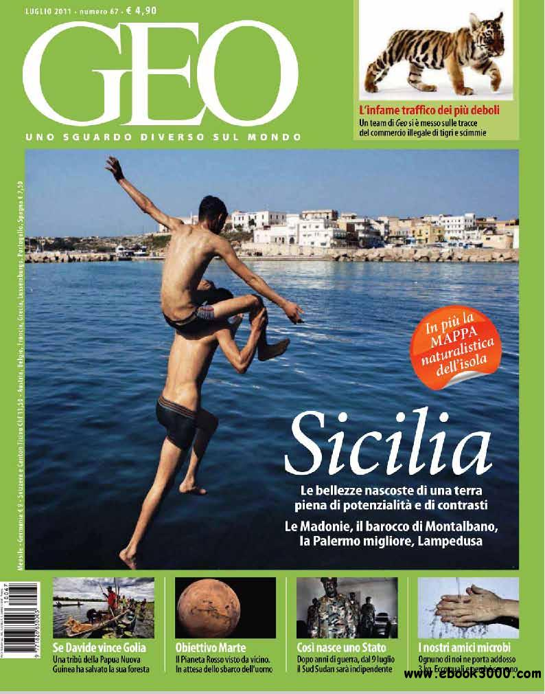 GEO Italia July 2011 (Nr 67 Luglio 2011) free download