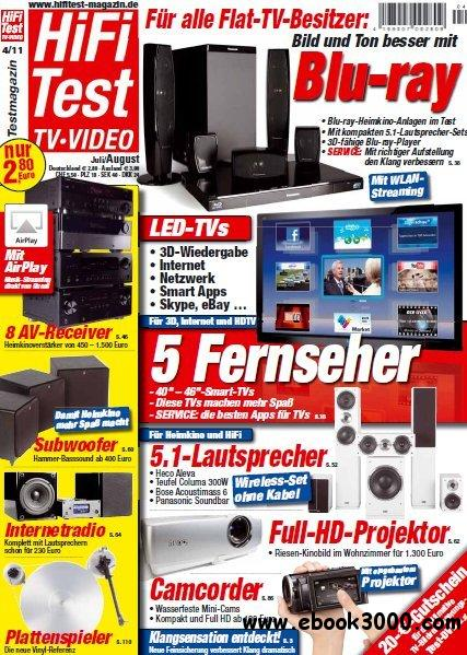 Hifi Test TV Video Magazin Juli August No 04 2011 free download