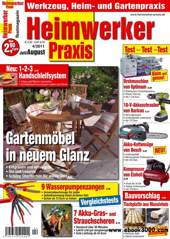 Heimwerker Praxis Magazin Juli August No 04 2011 free download