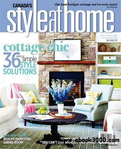 Style at Home - August 2011 free download