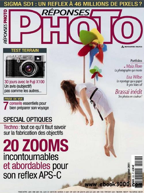 Reponses Photo No.232 - Juillet 2011 free download