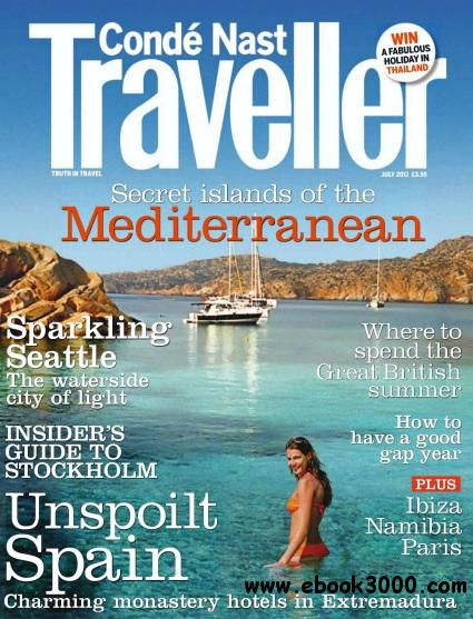 Conde Nast Treveller - July 2011 free download