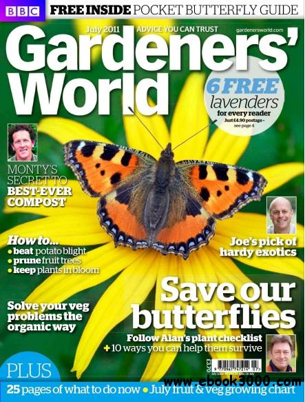 Gardeners World - July 2011 free download