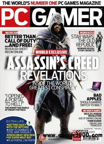 PC Gamer - July 2011 - Free eBooks Download
