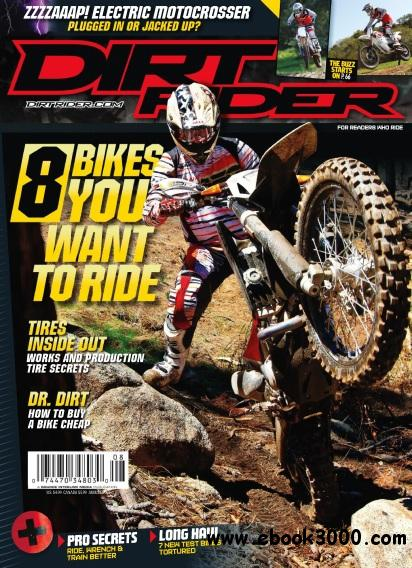 Dirt Rider - August 2011 free download