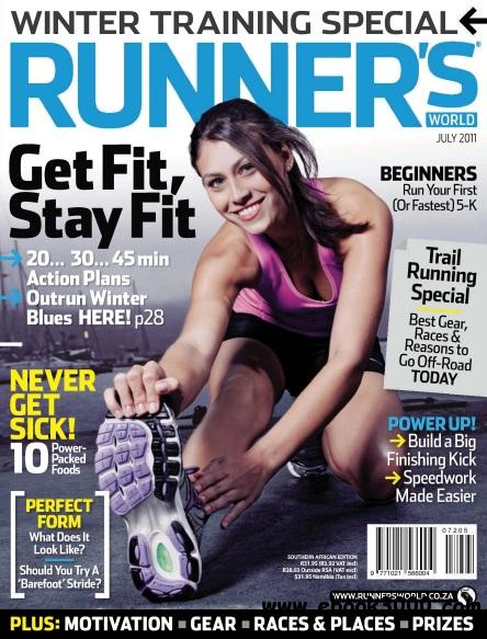 Runner s World South Africa - July 2011 free download