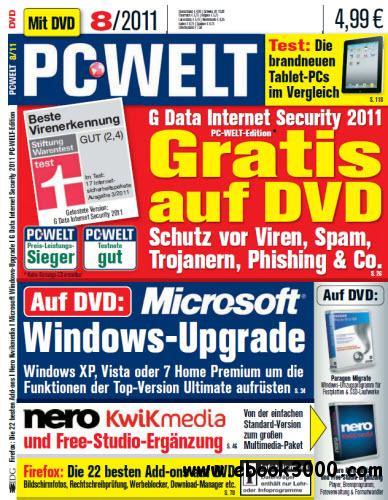 PC-WELT Magazin August No 08 2011 free download