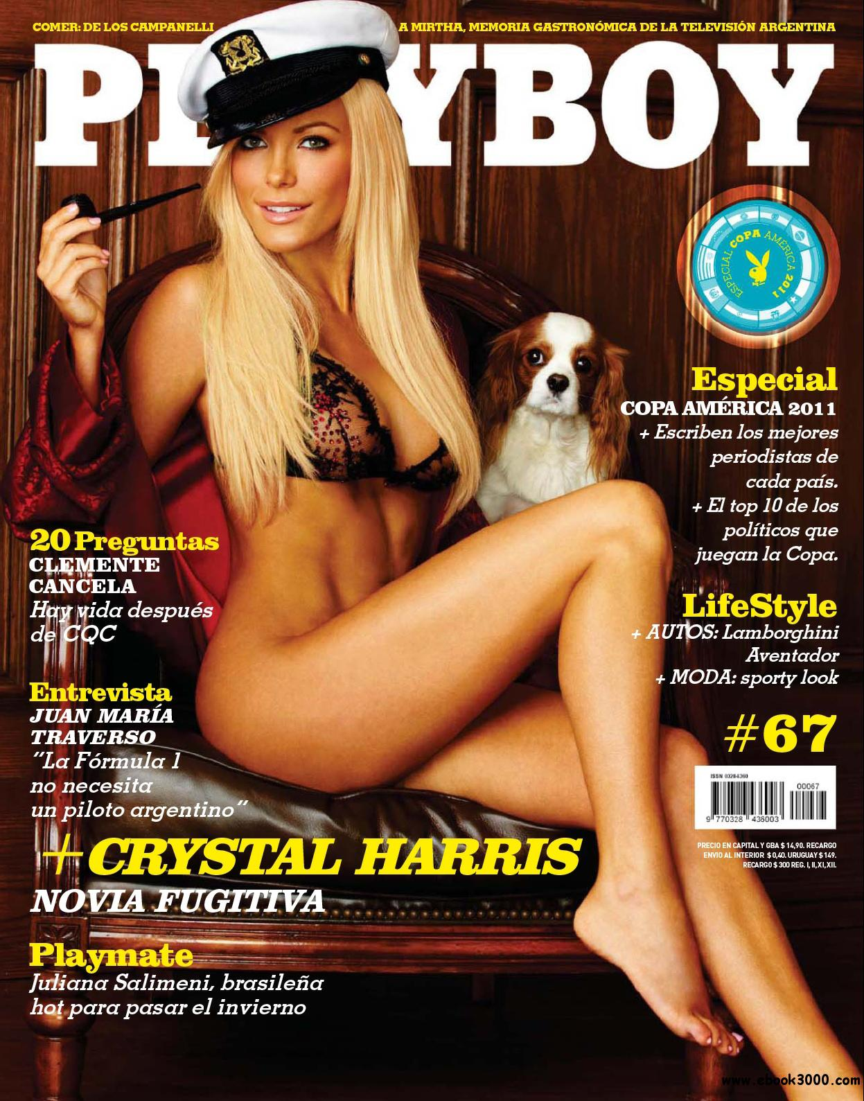 Playboy Argentina - July 2011 - No watermark free download