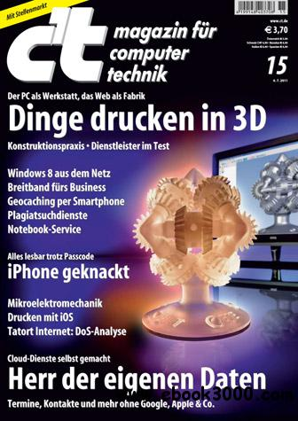 ct Magazin No 15 vom 04 Juli 2011 free download