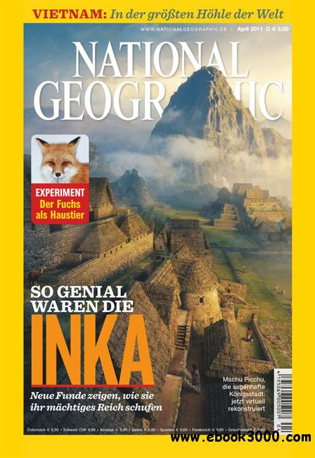 National Geographic Deutschland Magazin April No 04 2011 free download