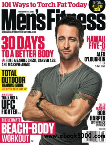 Men's Fitness USA - August 2011 free download