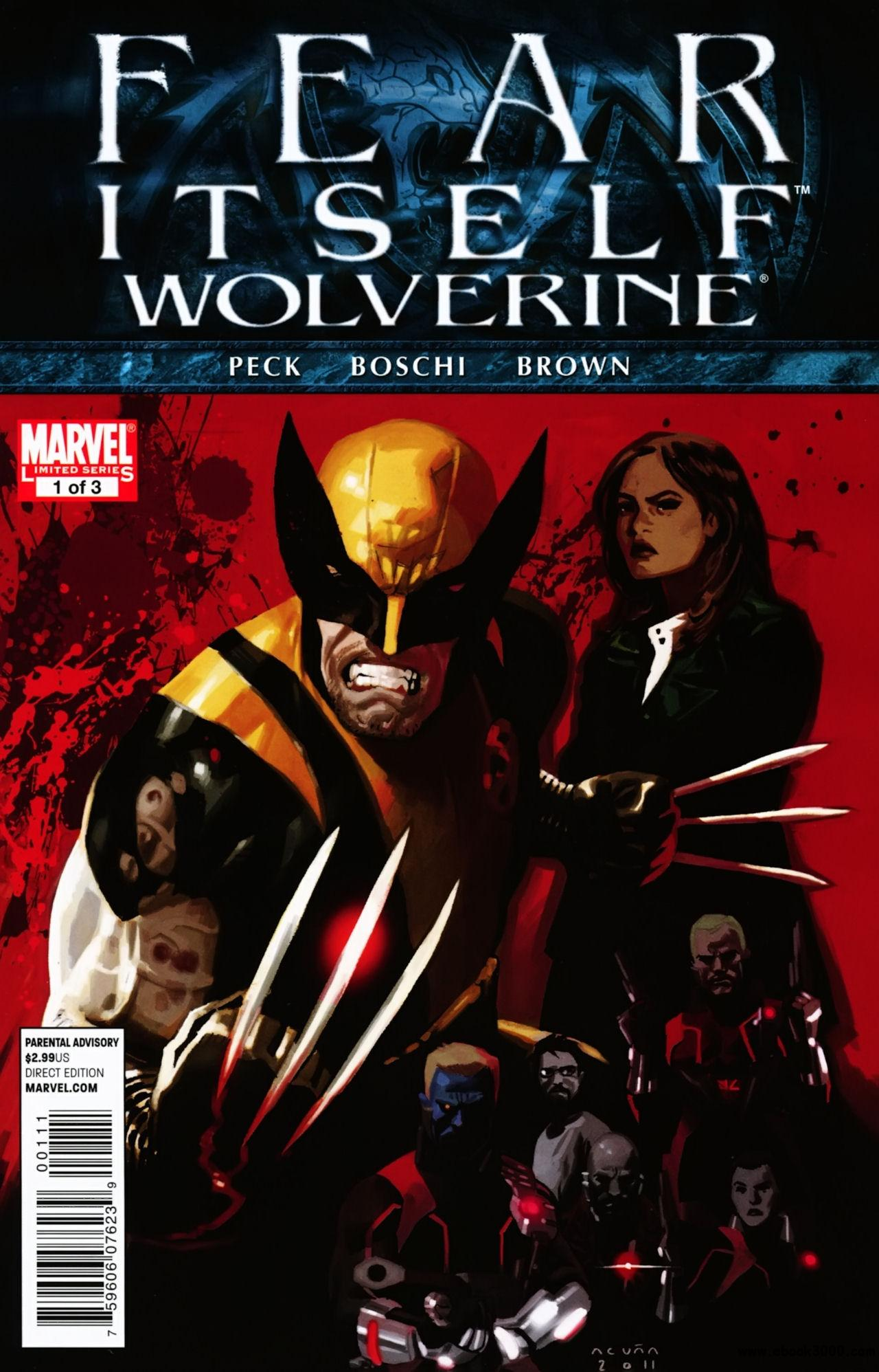 Fear Itself - Wolverine #1 (of 3) (2011) free download
